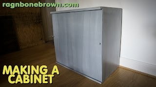 Making A Cabinet With Sliding Doors