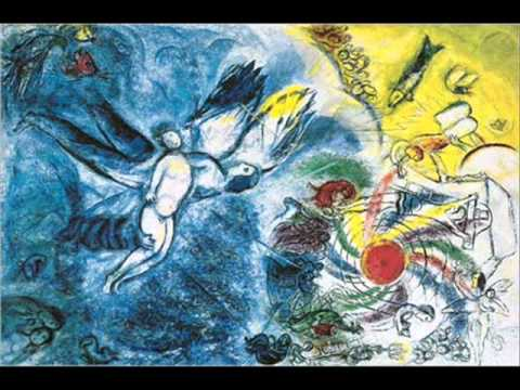 "Chagall ""Color is all"""