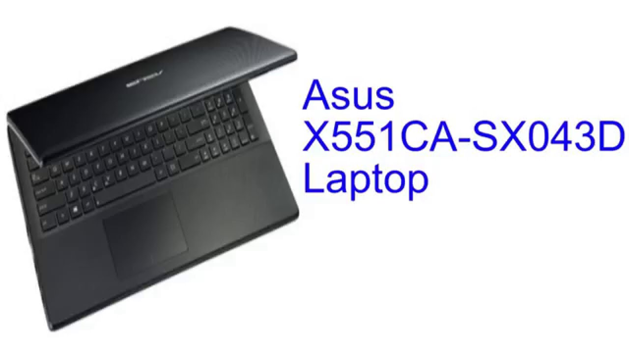 ASUS X551CA-SX043D DRIVER FOR WINDOWS DOWNLOAD