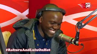 Raburu dares Teddy Otieno to read news in Kiswahili
