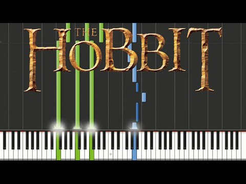 The Hobbit - Misty Mountains | Piano Tutorial