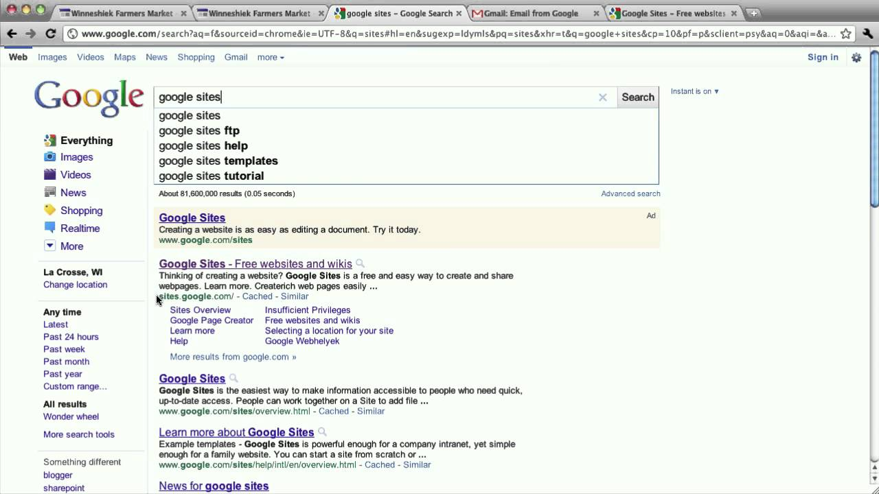 How to sign in to your google site youtube Google sites sign in