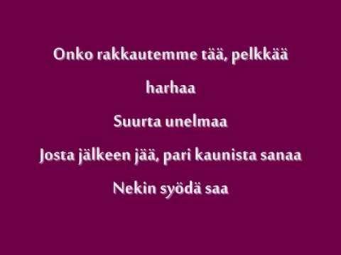Katri Ylander - Pari Kaunista Sanaa + lyrics