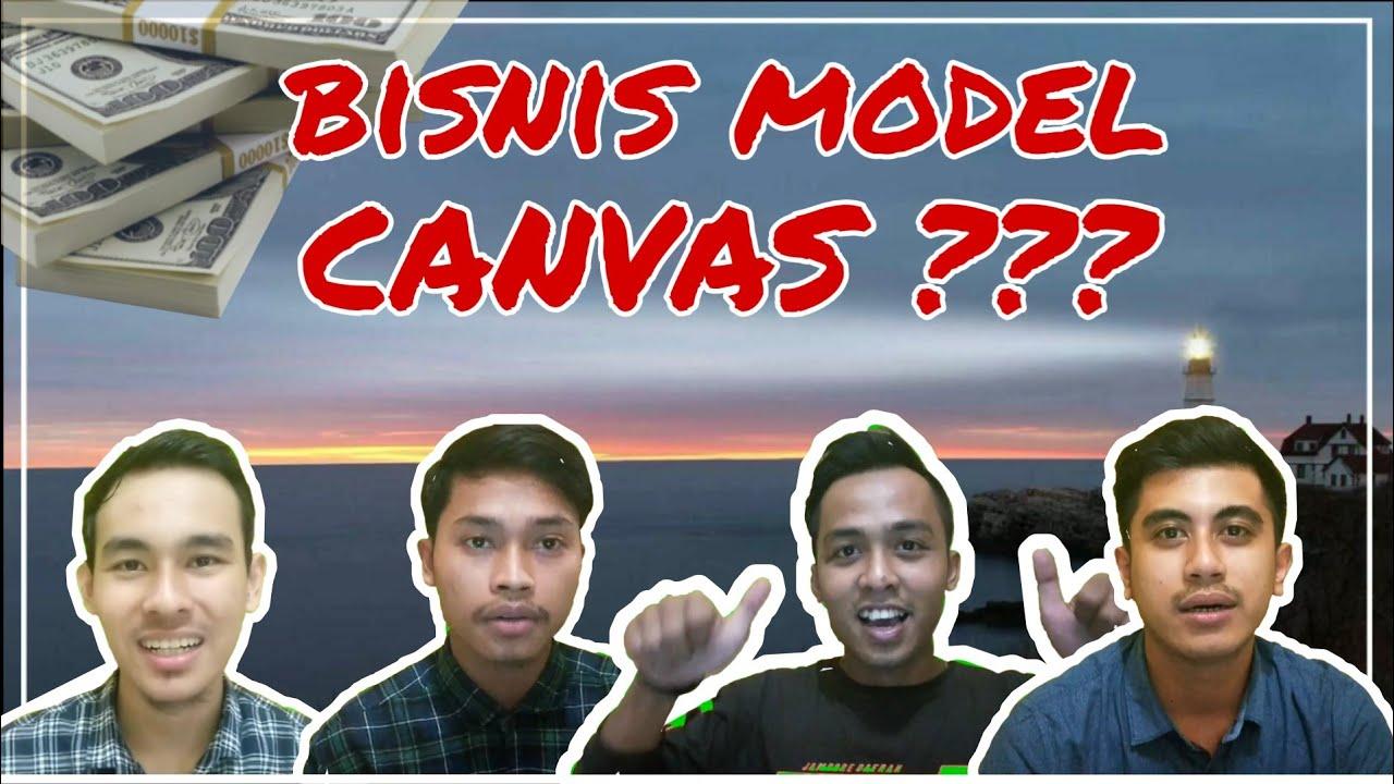 Contoh presentasi BISNIS MODEL CANVAS kemeja flanel - YouTube