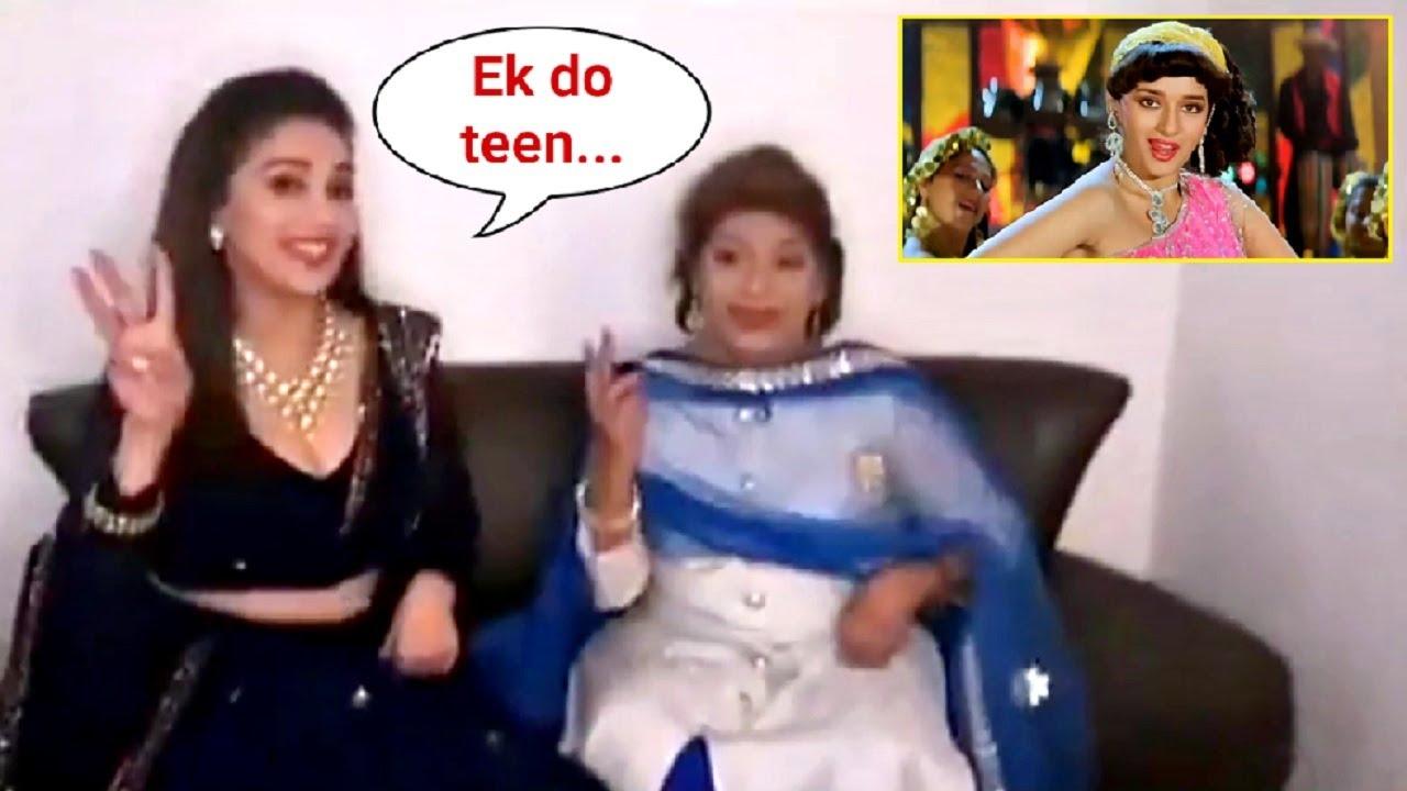 Madhuri Dixit Shared Great Memory With Saroj Khan Ji Teaching Her Ek Do Teen Song Dance
