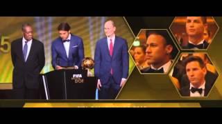 Messi vince pallone d'oro 2016