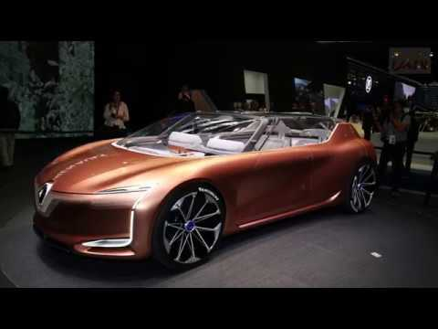 Renault Symbioz Concept. 2017 Frankfurt Show