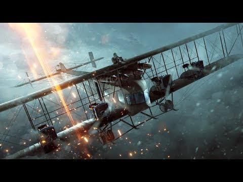 Battlefield1 ( 167 Kill Streak ) Heavy Bomber and attack Plane