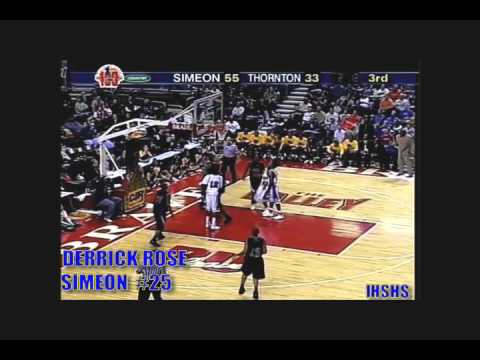 fd4d5bea7e97 Derrick Rose High School Highlights  3 - YouTube