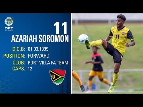 PLAYER PROFILE | Azariah SOROMON | Vanuatu