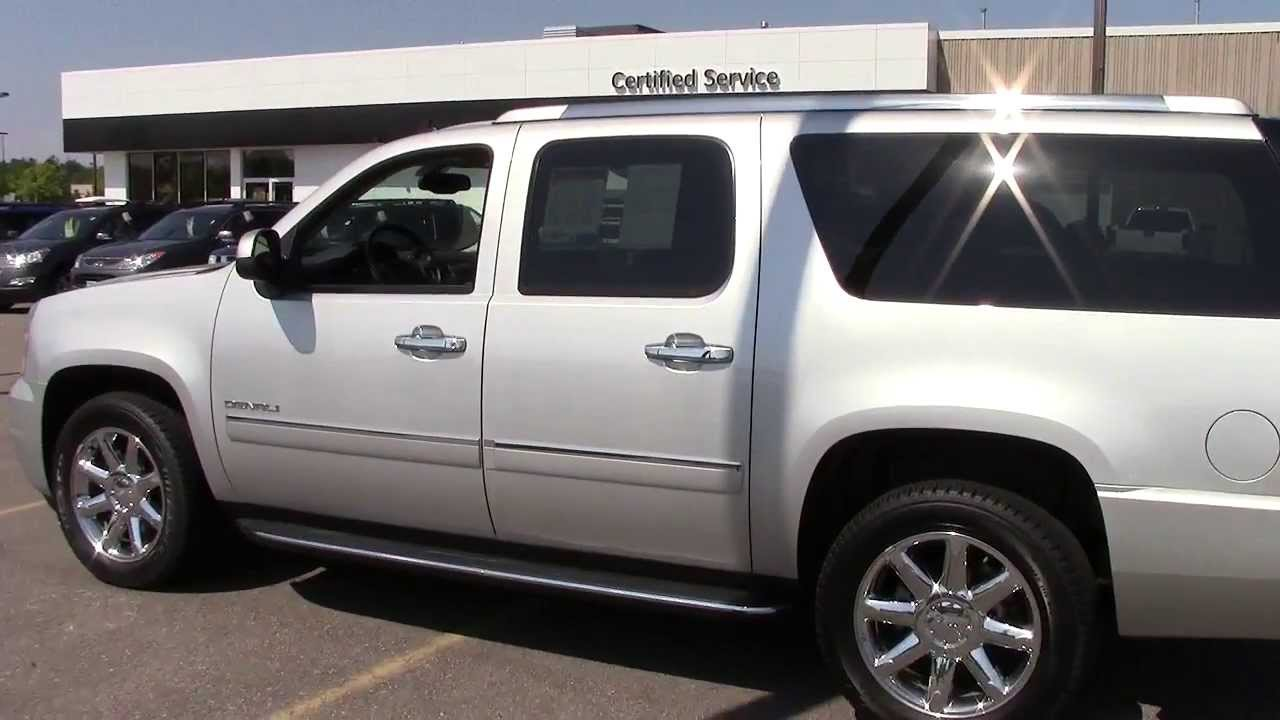 2010 gmc yukon xl denali 1500 awd one owner local trade. Black Bedroom Furniture Sets. Home Design Ideas