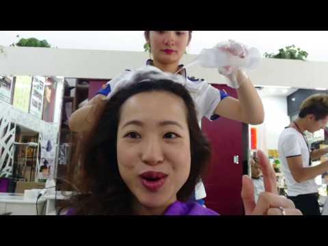 """""""Dry wash"""" - hair salon experience in Guangzhou"""