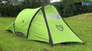 Nemo Morpho 1 person tent - Lightweight tent with inflatable airbeams. Thumbnail