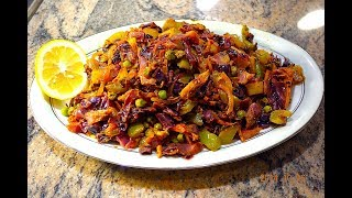 How To Cook Red Cabbage Sabzi | Vegetarian Dish Recipe