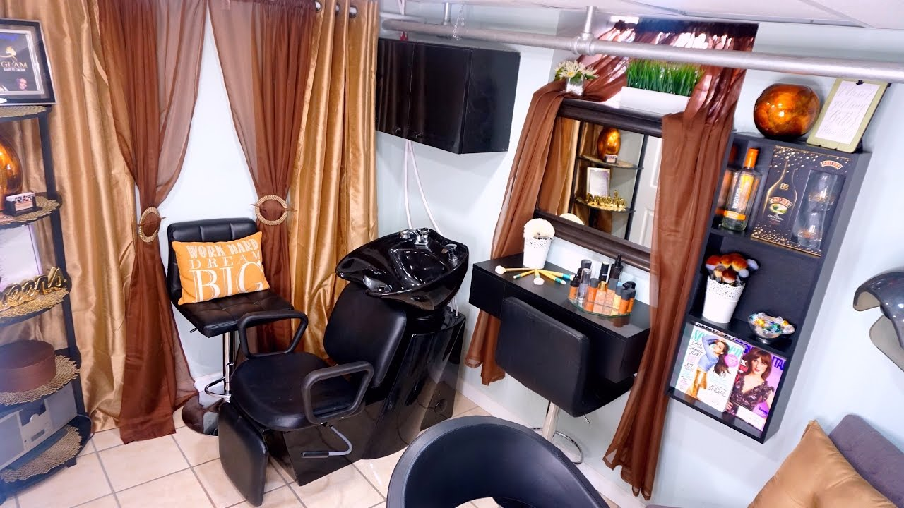 Home Spa Design Ideas: Update Home Beauty Salon One Year Congratulations For One