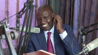 DP RUTO INTERVIEW ON KAMEME FM PART 2 OF 3