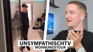 Justin reagiert auf unsympathischTV Roomtour.. | Reaktion