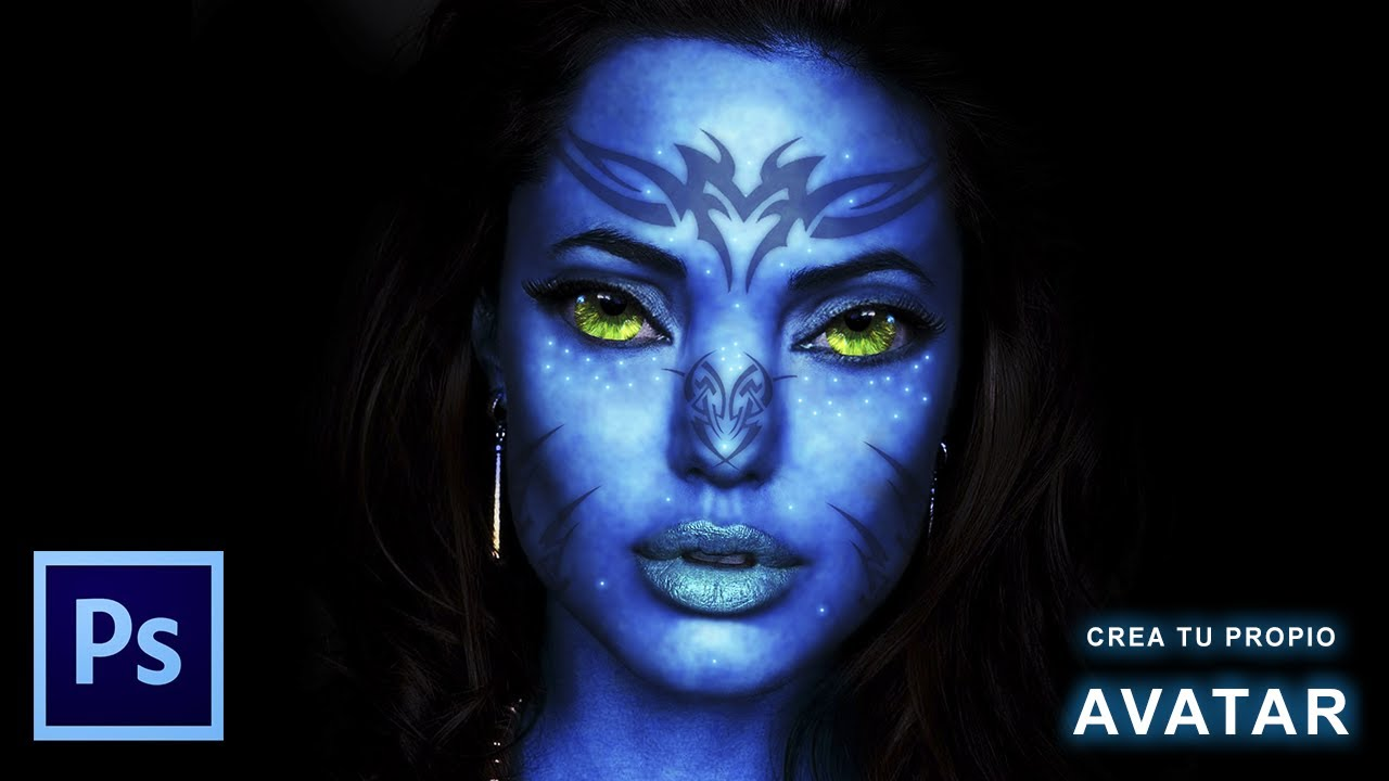 Avatar photoshop tutorial image collections any tutorial examples tutorial photoshop convertir en avatar youtube baditri image collections baditri Images