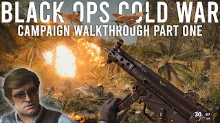 BLACK OPS COLD WAR  Walkthrough Part 1