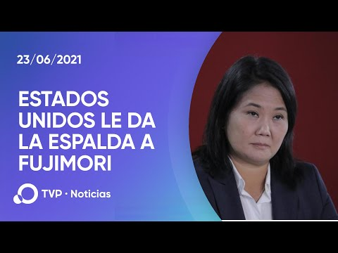 EEUU le da la espalda a Keiko Fujimori