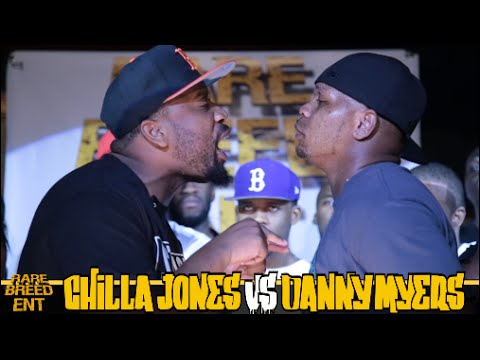 CHILLA JONES VS DANNY MYERS RAP BATTLE - RBE