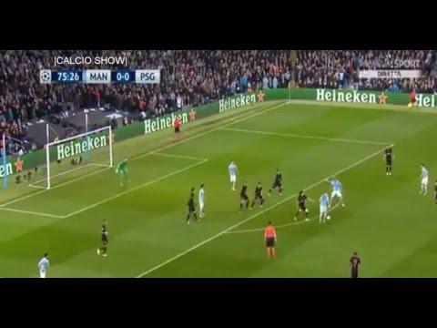 De Bruyne • Manchester City vs PSG • 1-0  CL 2016 •HD