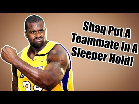 Shaq Put A Teammate In A Sleeper Hold Before A Game