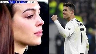 Warum weinte Ronaldos Freundin bei seinen Toren gegen Atletico ?!