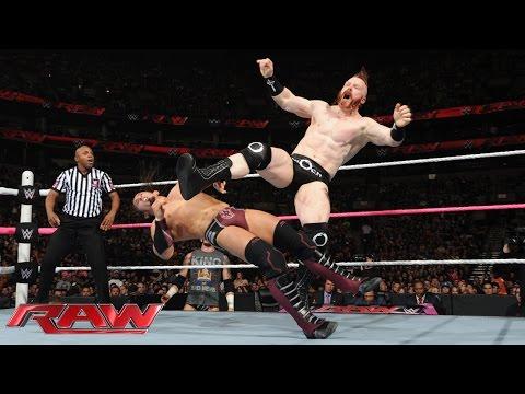 Neville vs. Sheamus: Raw, Oct. 5, 2015