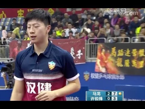 [News & Interview][20171121] CCTV   Ma Long entered the stage to help Tianjin win the first victory