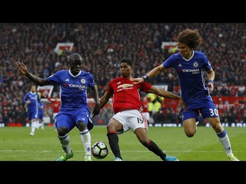 Manchester United vs Chelsea 2-0 April 16th 2017 All Goals and Highlights!