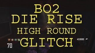 Call of Duty Black Ops 2 Die Rise High Round Barrier Glitch Xbox One 360 PS3