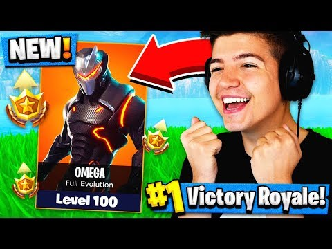 HOW TO GET UPGRADED OMEGA SKIN IN FORTNITE BATTLE PASS SEASON 4