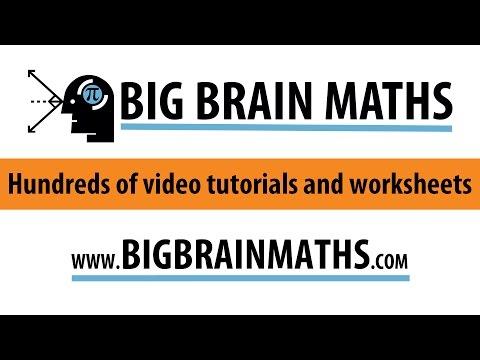About Bigbrainmaths.com
