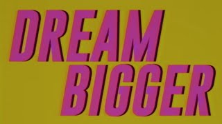 'Dream Bigger' available everywhere now: http://axing.co/dreambigge...