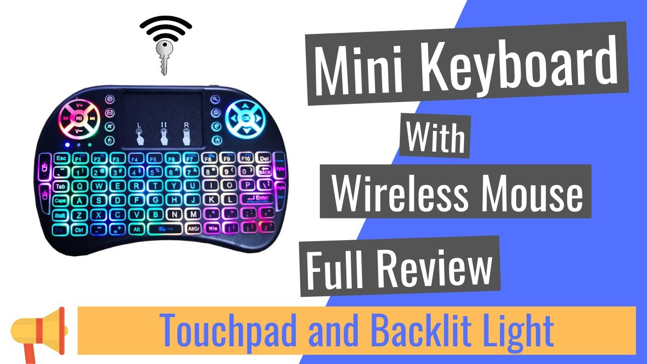 Remote Control for YouTube Black Wireless Mini Keyboard /& Mouse Easy Control Browser for Techwood 55AO8UHD O8UHD 55