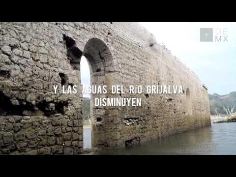 La iglesia sumergida de Quechula (en Chiapas, México)