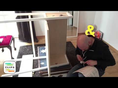 Timelapse: Assembling the IKEA PS 2014 Secretary