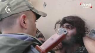 شاهد.. لحظة إلقاء القبض على داعشي في بعشيقة بالموصل
