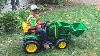 New John Deere ride on battery Tractor toy