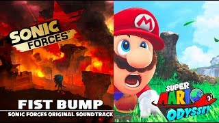 "SUPER MARIO ODYSSEY TRAILER WITH SONIC FORCES ""FIST BUMP"" SONG"