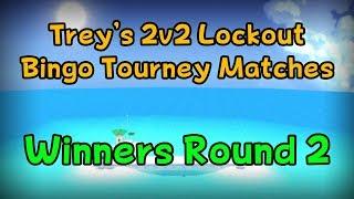 SMS 2v2 Lockout Bingo Tourney 2018 - Winners Round 2 Match