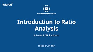 Ratio Analysis - Introduction
