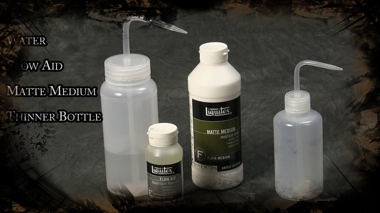Les Quick Tip How To Make Airbrush Thinner For Water Based Acrylics You