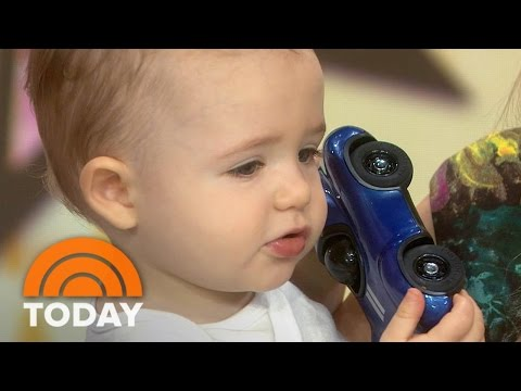 Bobbie Thomas And Son Miles Show Creative Items For Babies And Toddlers | TODAY