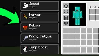 Minecraft But Every Time We Mine A Block We Get A Random Potion Effect