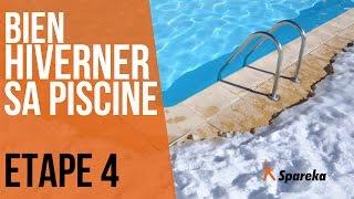 Hivernage de la piscine - Etape 4 : rincer le filtre et boucher les skimmers
