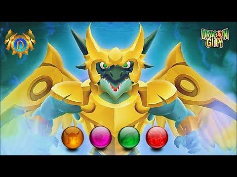 Dragon City: Unlock Golden, Green, Purple, Red Orbs | Legends of Deus 2017