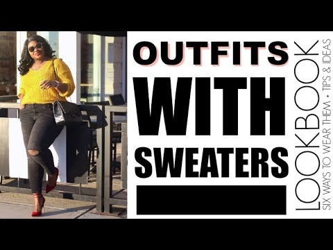 WINTER ? LOOKBOOK FT SWEATERS I OUTFITS TRY ON I PLUS SIZE FASHION 6