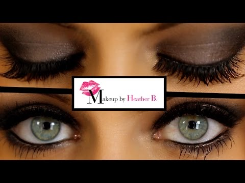 How To Do Smokey Eyes Learn From Professional Makeup Artist Heather